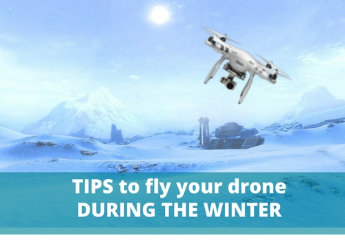fly a drone during the winter